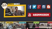 "Screenshot vom Youtube-Kanal ""AlexiBexi"" (DW)"
