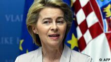 Kroatien Ursula von der Leyen
