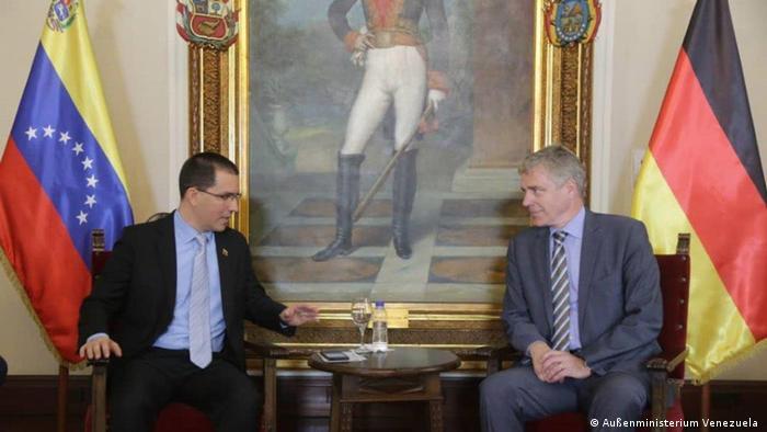 Deutscher Botschafter in Venezuela Daniel Kriener (Außenministerium Venezuela )
