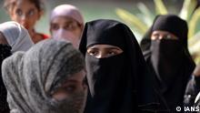 Indien Neu-Delhi | Muslimische Frauen zur Triple Talaq Verordnung