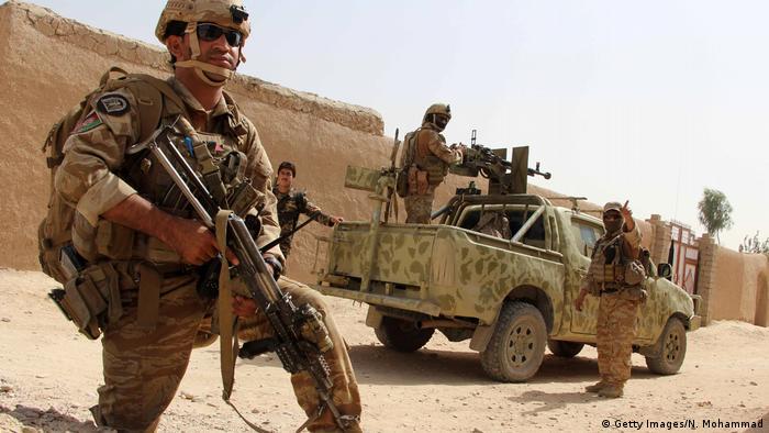 Афганські військові у провінції Гільменд (архівне фото)