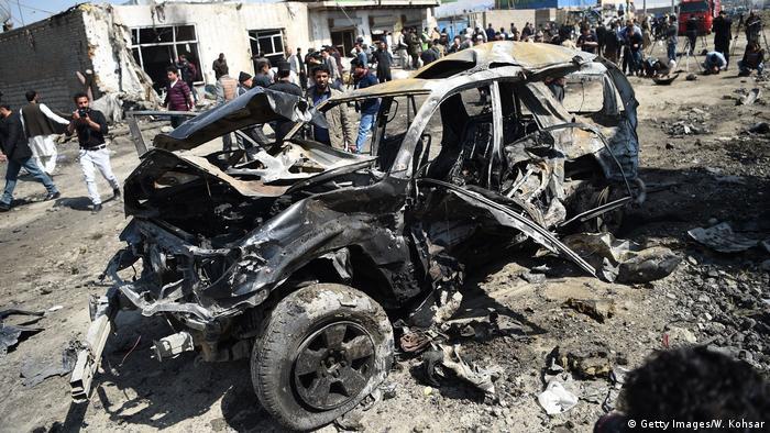 Unruhen in Afghanistan (Getty Images/W. Kohsar)