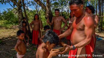 Brasilien Wayapi Indianer