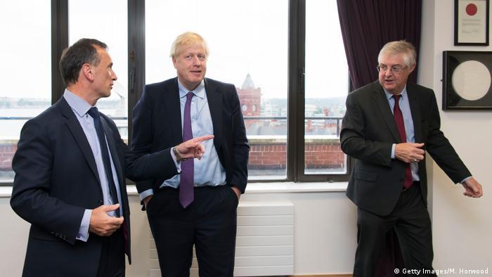 Boris Johnson s premijerom Welsa Markom Drakefordom