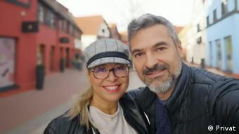 Camelia und Laurentiu, Migranten aus Rumänien