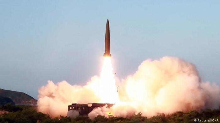 Ein Blick auf Nordkoreas Raketenstart (Reuters/KCNA)