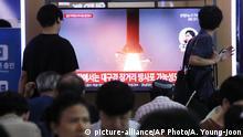 Südkorea Nordkorea Rackete