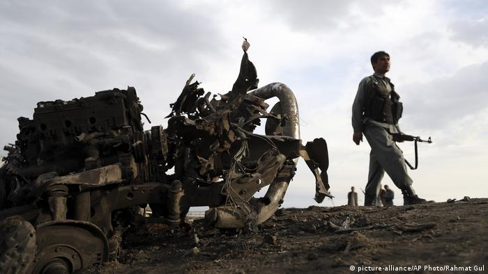 Kämpfe und Anschläge gehören in Afghanistan noch immer zum Alltag (Archivbild)