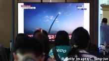 BdT Nordkorea feuert Ballistische Raketen vor der Küste ab