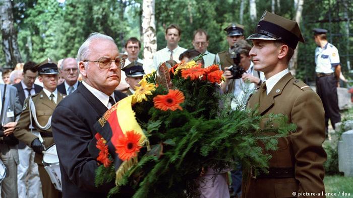 Roman Herzog bittet in Polen um Vergebung