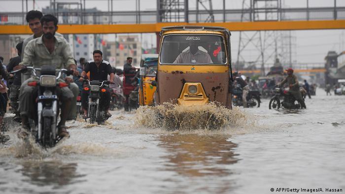 Bildergalerie Monsun in Pakistan