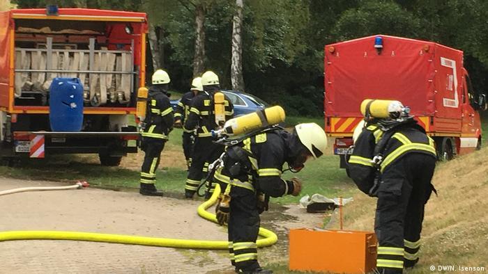 Пожарникарите-доброволци придобиват нужните умения в свободното си време