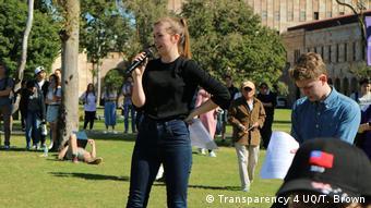 Australien - Studenten der University of Queensland (Transparency 4 UQ/T. Brown)