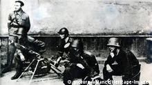 Polen Warschauer Aufstand in August 1944