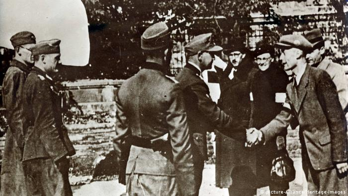 Капитуляция 2 октября 1944 года