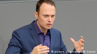 Kai Gehring spricht in Deutschen Bundestag. Archivbild aus dem Jahr 2018