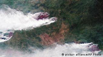 Οι καταστροφικές πυρκαγιές στη Σιβηρία
