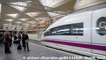 Spanien Hochgeschwindigkeitszug AVE