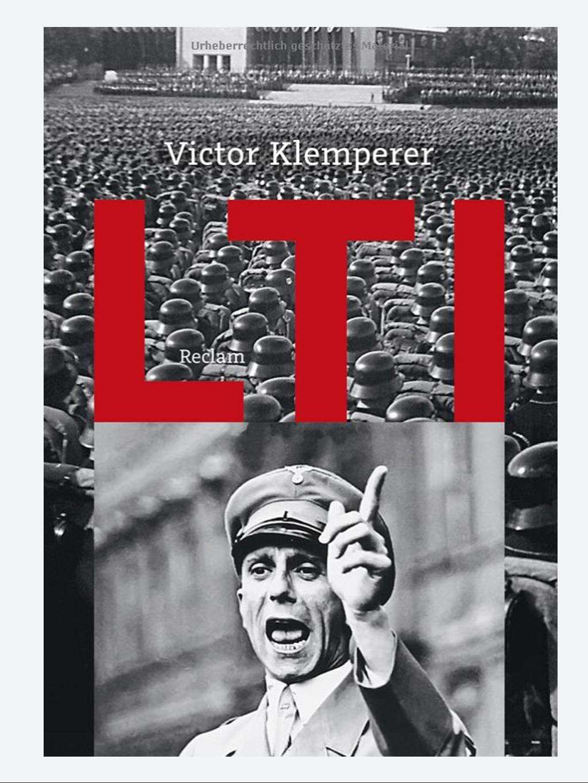 Buch-Cover LTI von Victor Klemperer