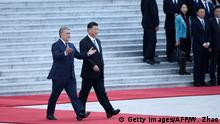 China Peking | Ivan Duque, Präsident Kolumbien & Xi Jinping, Präsident