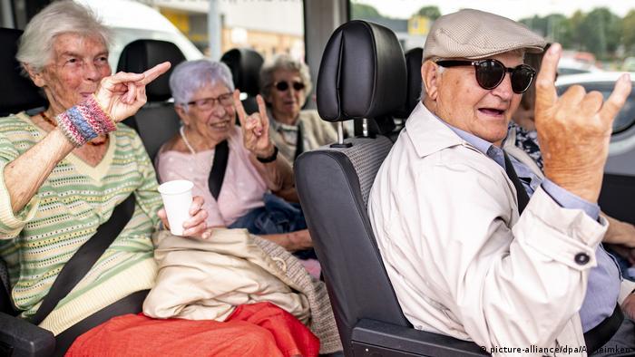 Auftakt Wacken-Festival - Rockende Rentner: