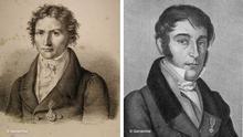 Bildkombo Johann Baptist von Spix und Carl Friedrich Philipp von Martius
