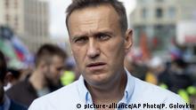 Russland Moskau | Alexei Nawalny, Oppositionspolitiker