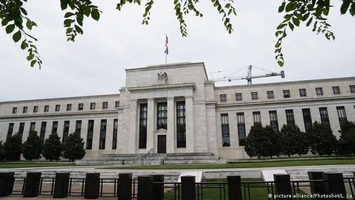USA Federal Reserve - US-Notenbank (picture-alliance/Photoshot/L. Jie)
