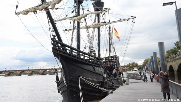 Nachbau von Magellans Schiff Victoria