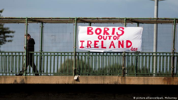 UK Ärger auf Nordirland-Reise von Premier Johnson