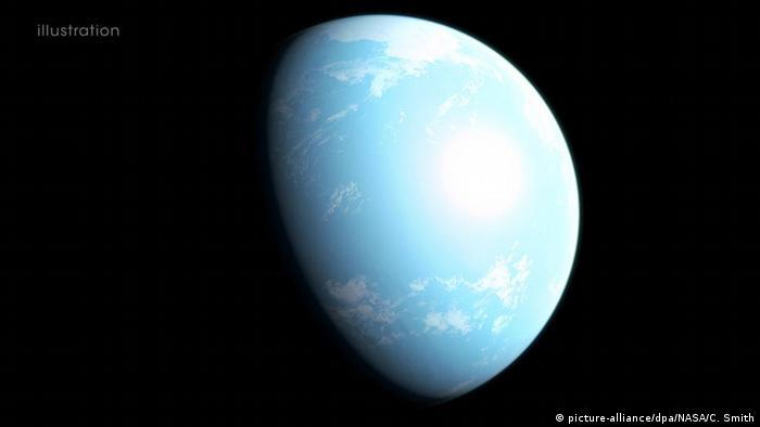 Открытая немецкими учеными планета GJ 357 d