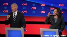 USA TV-Duell der Demokraten