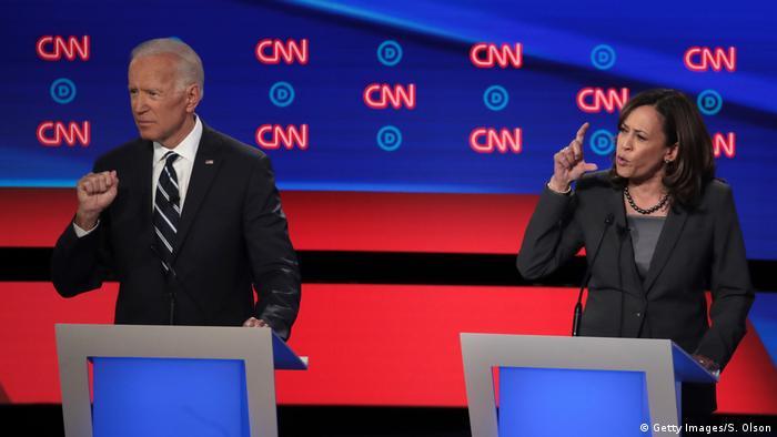 USA TV-Duell der Demokraten (Getty Images/S. Olson)