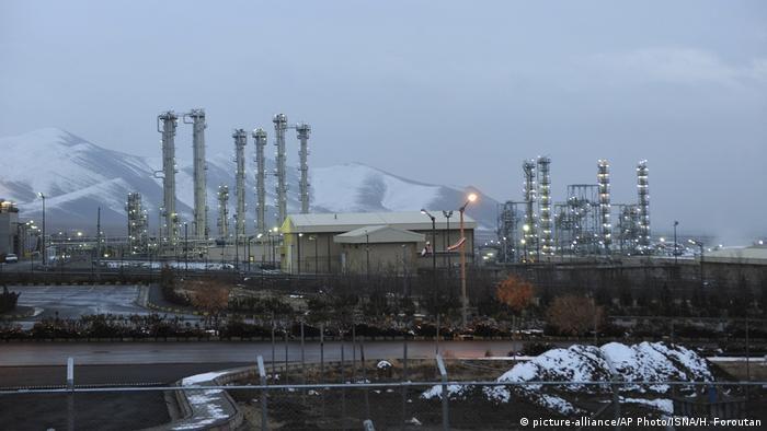 The Arak nuclear site in Iran