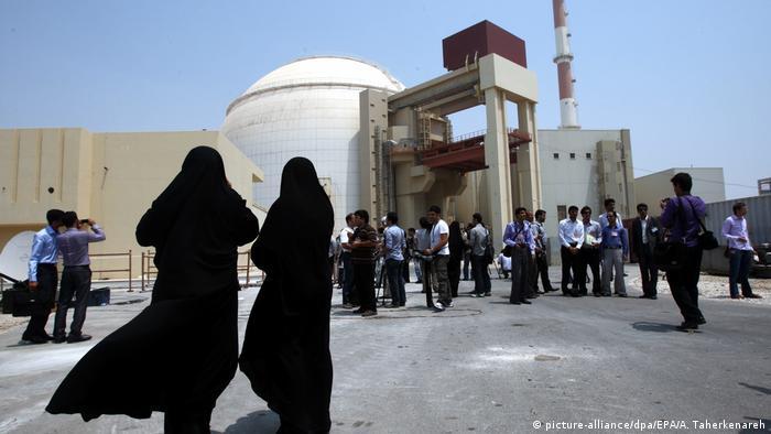 Iran Atomkraftwerk Buschehr (picture-alliance/dpa/EPA/A. Taherkenareh)