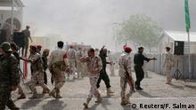 Jemen Anschlag auf Polizeikräfte in Aden