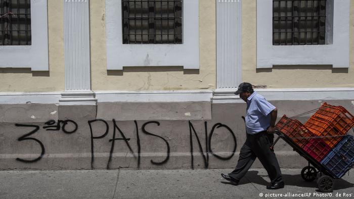 BG Asylabkommen zwischen Guatemala und die USA: Proteste in Guatemala