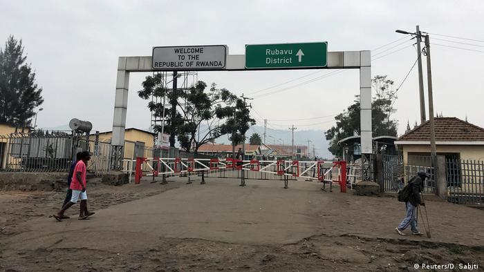 Ebola-Ausbruch   Grenze DR Kongo - Ruanda