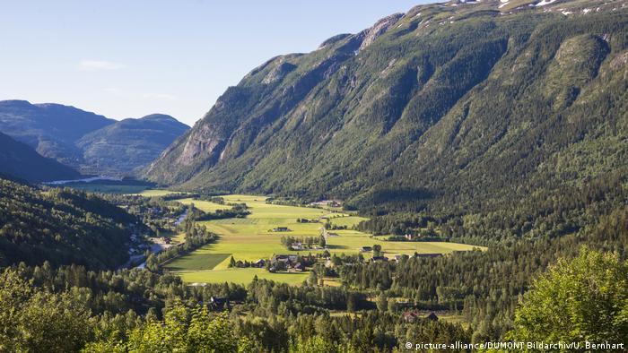 Norway's Flatdal region (picture-alliance/DUMONT Bildarchiv/U. Bernhart)