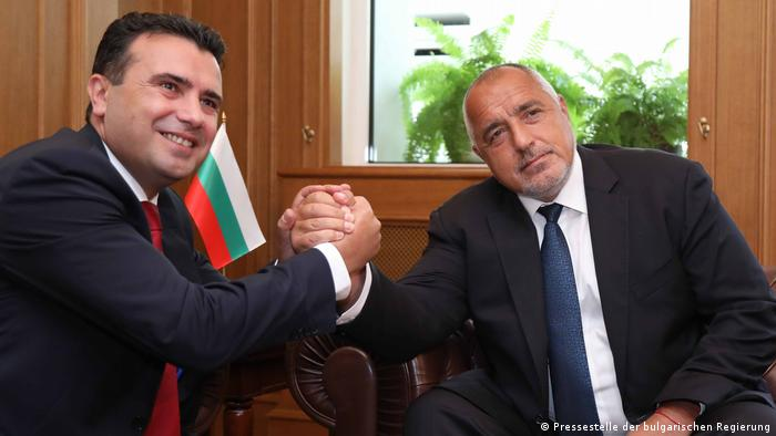 Nord-Mazedonien Bojko Borissow, Ministerpräsident Bulgarien & Zoran Zaev, Ministerpräsident