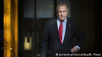 Niederlande Rotterdam | Bürgermeister Ahmed Aboutaleb (picture-alliance/dpa/B. Maat)