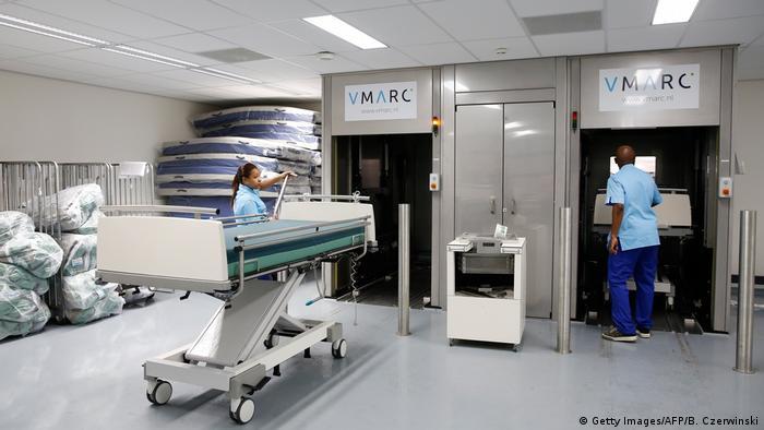 Больница в Роттердаме