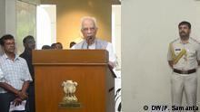 Indien Kesharinath Tripathi, Ex-Gouverneur von West Bengal