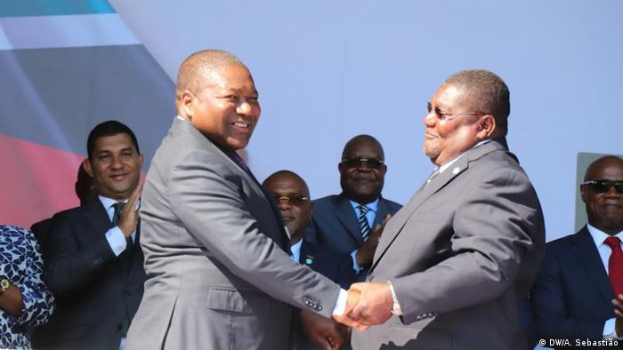 Friedensvertrag Mosambik
