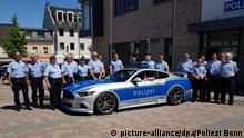 Bonn | Ford Mustang im Polizeidesign