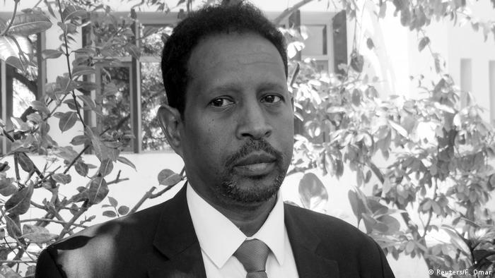 Mogadishu Mayor Abdirahman Omar Osman is seen at an event in Mogadishu, Somalia April 19, 2017.