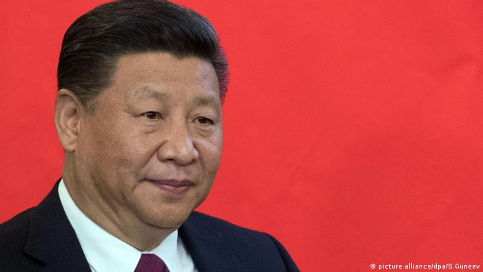 Russland China Xi Jinping in Moscow