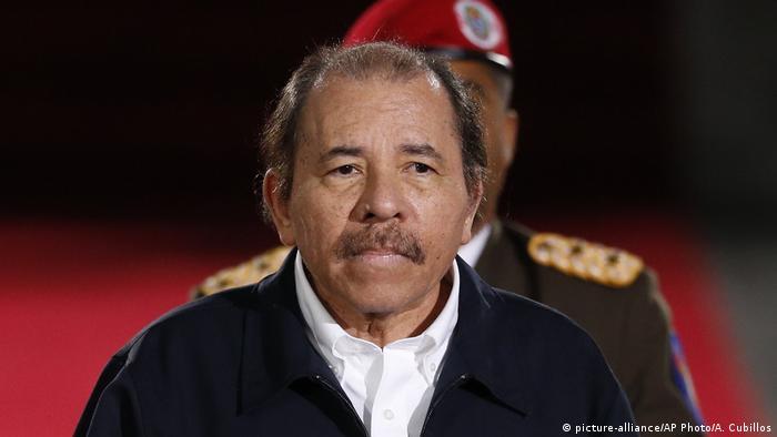 Nicaragua Präsident Daniel Ortega