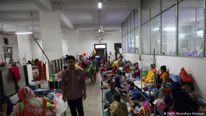 Bangladesch Dengue-Patienten im Krankenhaus von Dhaka
