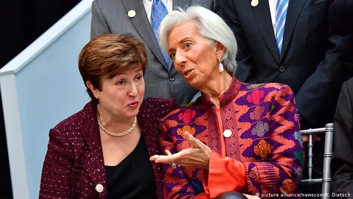 Christine LaGarde i Kristalina Georgieva
